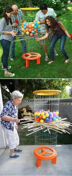 DIY Shishkaball...these are the BEST Backyard Games for Kids & Adults!