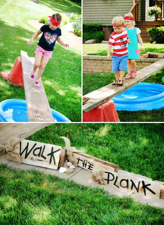 Walk The Plank Pirate Game...these Are The BEST Games For Kids U0026