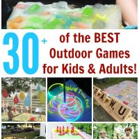Over 30 of the BEST Backyard Games for Kids & Adults!