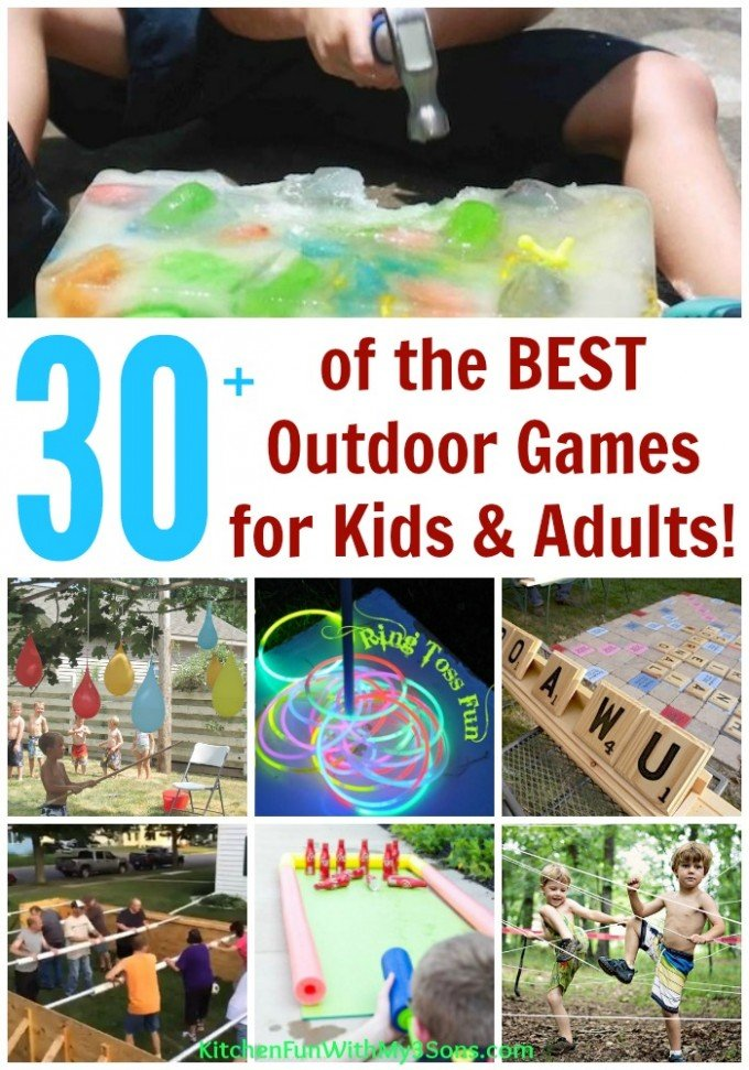 What are some good outdoor games for children?