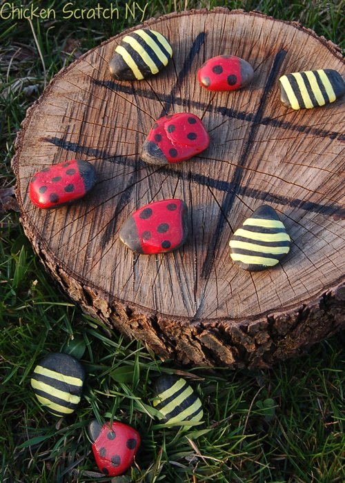 Outdoor Tic-Tac-Toe...these are the BEST Backyard Game Ideas for Kids & Adults!