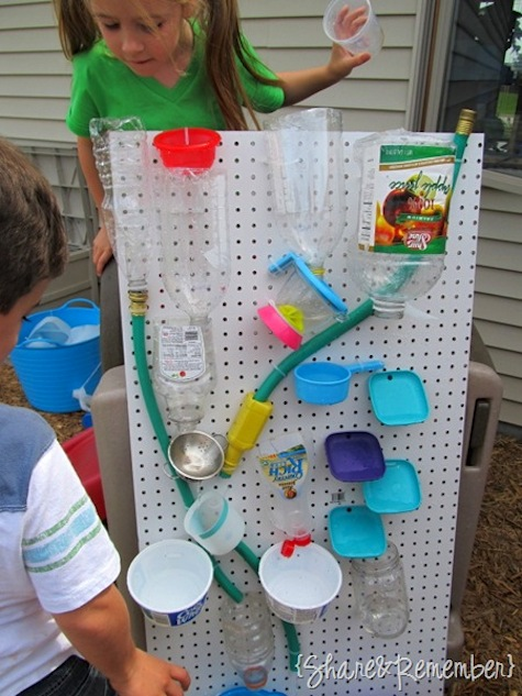 DIY Water Wall...these are the BEST Backyard Games for Kids & Adults!