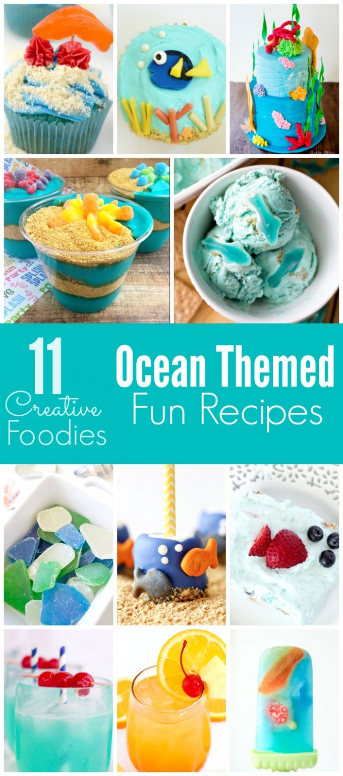 11 Ocean Themed Fun Recipes