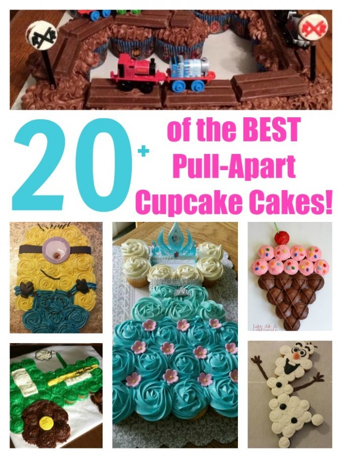 Over 20 Pull-Apart Cake Ideas