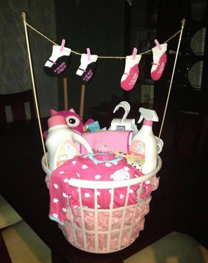 Baby Gift Wrapping Ideas Pinterest : Of the best baby shower ideas kitchen fun with my