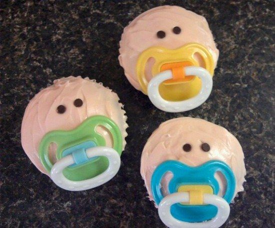Baby Cupcakes...these are the BEST Baby Shower Ideas!