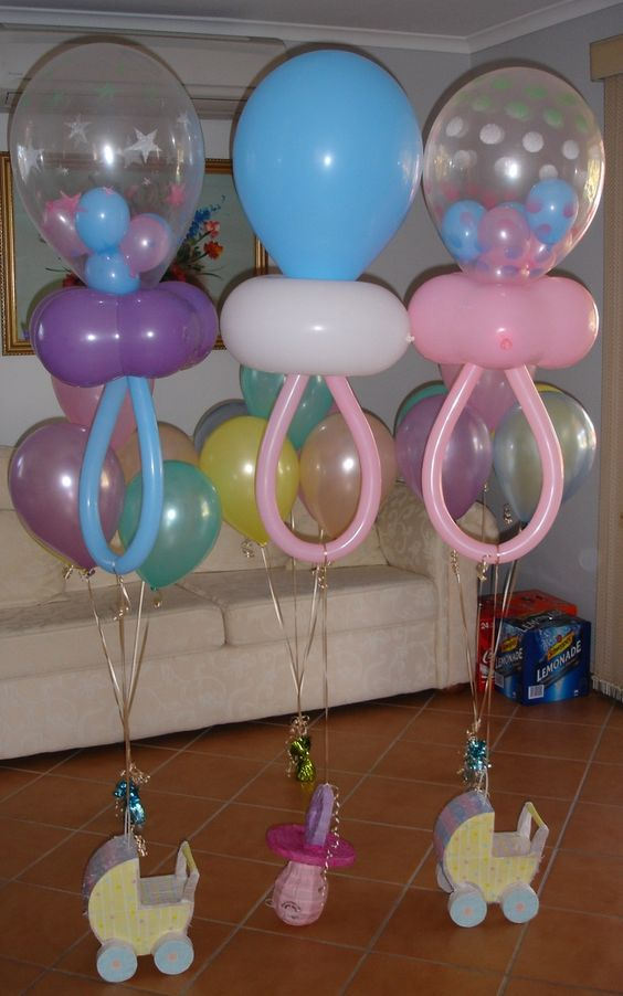 30 of the best baby shower ideas kitchen fun with my 3 for Baby shower decoration ideas with balloons