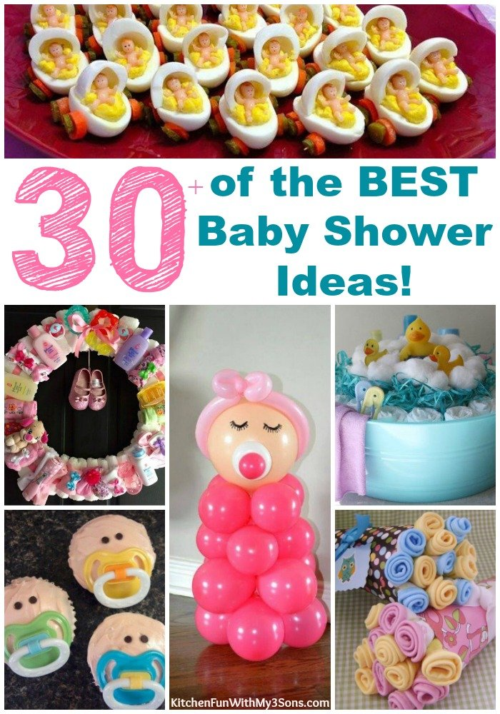 30 of the best baby shower ideas kitchen fun with my 3 for Baby shower food decoration ideas