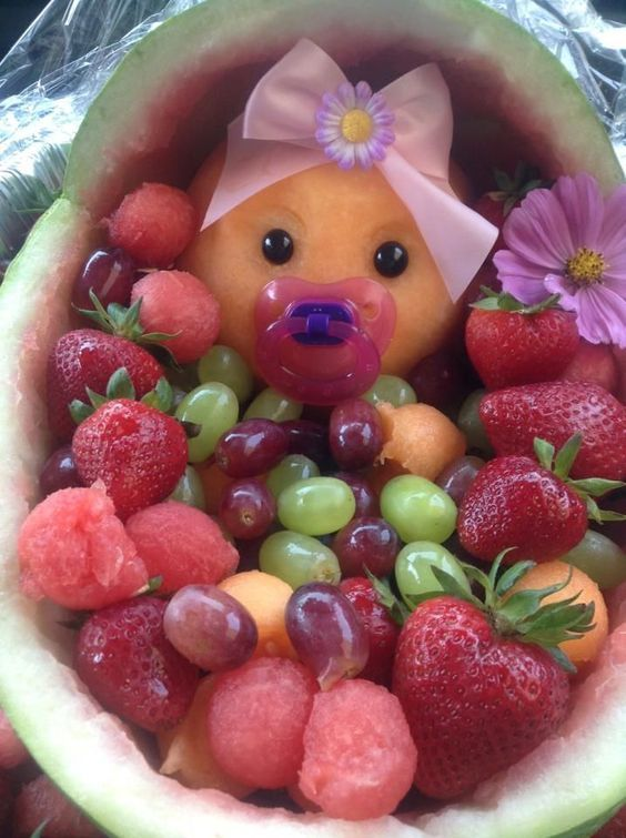 Baby Shower Food Fruit Salad