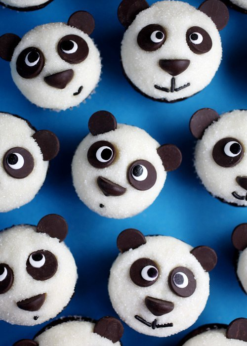 Easy Panda Cupcakes...these are the BEST Cupcake Ideas!