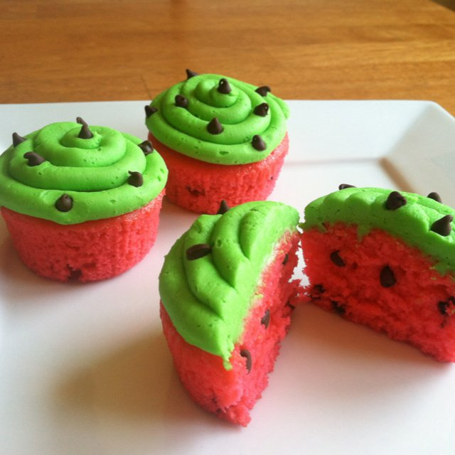 Watermelon Cupcakes These Are The Best Cupcake Ideas