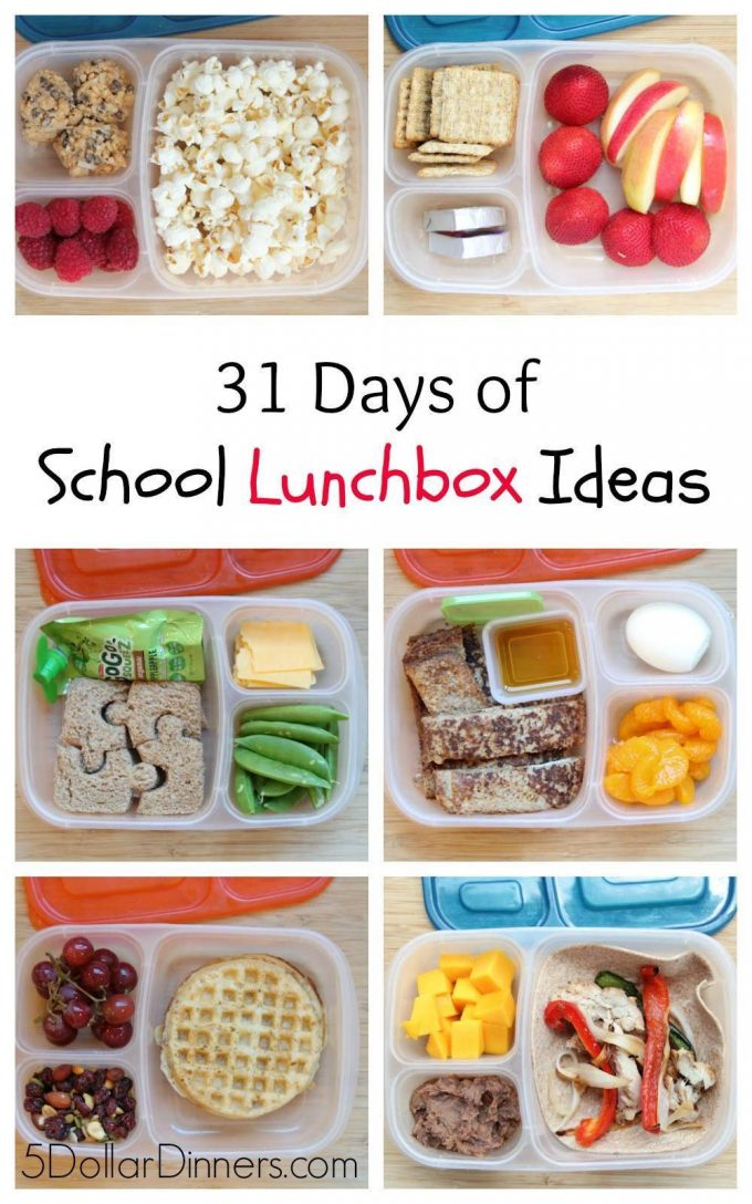 The Best School Lunch Ideas For Kids That Are Fun And Easy