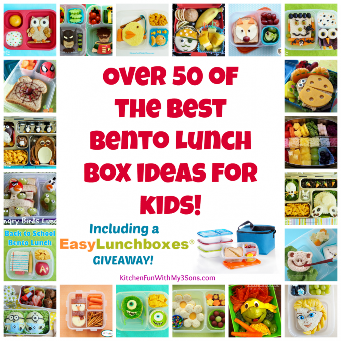 Over 50 Bento Box Lunch Box Ideas