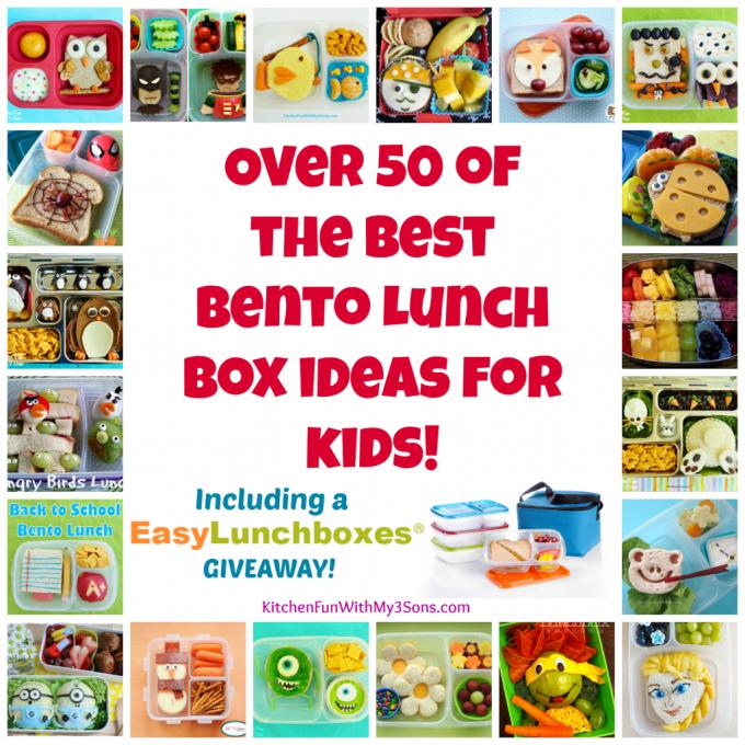 Over 50 Bento Box Lunch Box Ideas