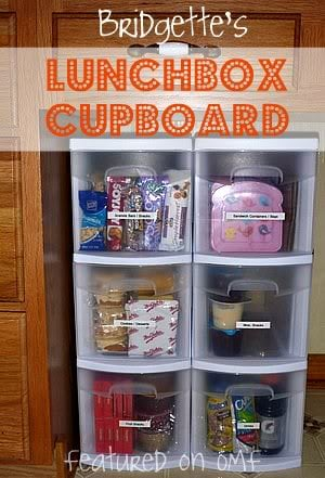 Lunch Box Cubby....these are the BEST Back to School Lunch Ideas for Kids!