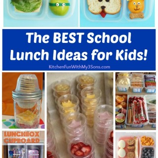 The BEST School Lunch Ideas for Kids!