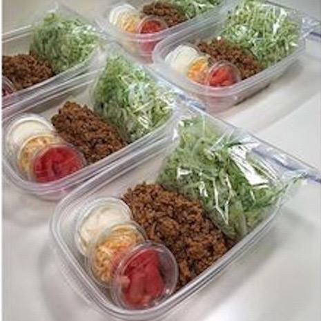 Take to Work/School Taco Salad....these are the BEST Back to School Lunch Ideas!