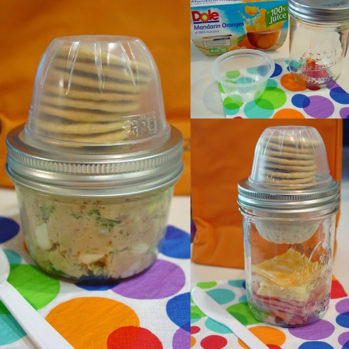 Mason Jar Lunchables...these are the BEST Back to School Lunch Ideas!