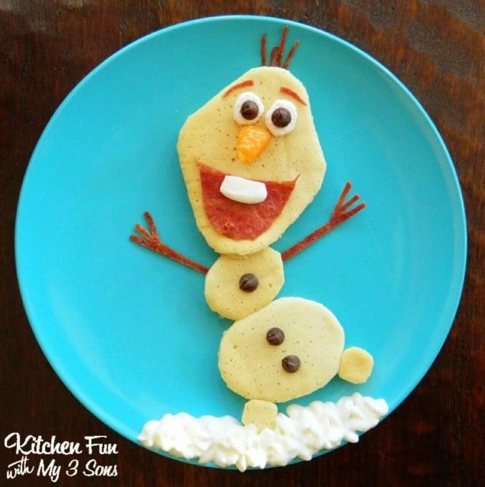 Disney Olaf Pancake Breakfast