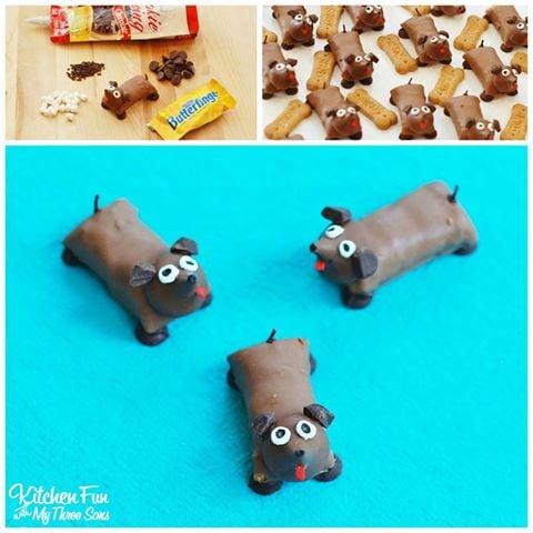 Dog Candy Bar Treats