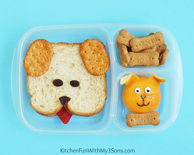 Puppy Dog Bento Lunch for Kids!