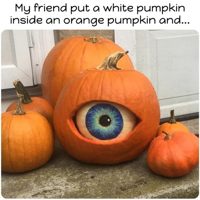 Eyeball Pumpkin