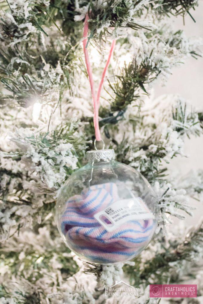 Baby Girl 1st Christmas Ornament
