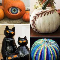 40 of the BEST Pumpkin Decorating Ideas