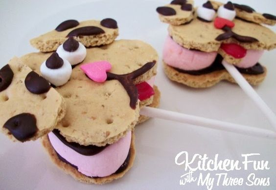 Puppy Dog S'mores Pops for Kids!