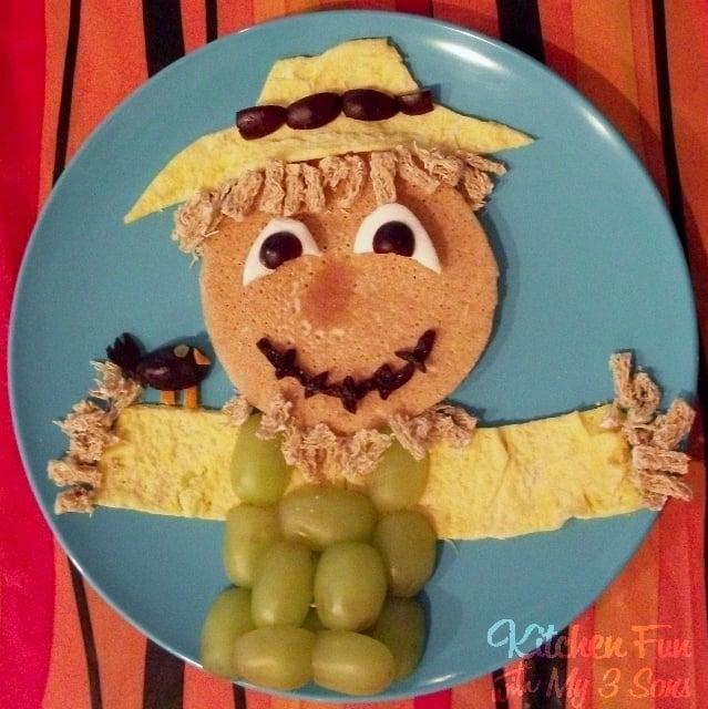 Scarecrow Pancake Breakfast for Kids!