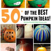 Over 50 of the BEST Carved & Decorated Pumpkin Ideas!
