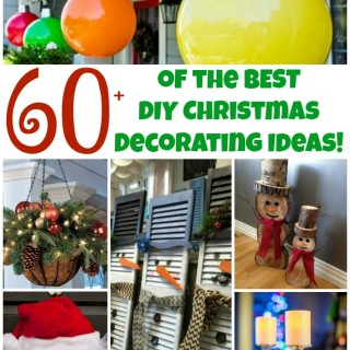 Over 60 of the BEST DIY Christmas Decorations & Craft Ideas!