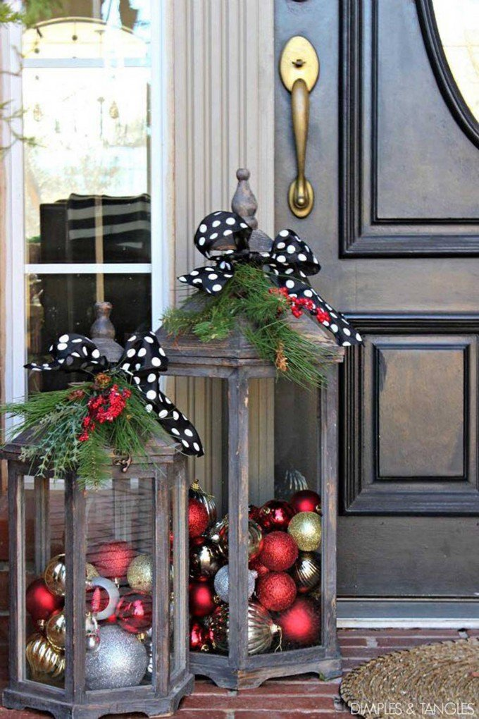 60 Of The Best Diy Christmas Decorations Kitchen Fun: diy outside christmas decorating ideas