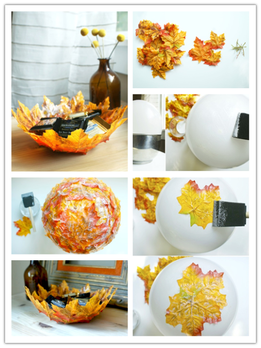 Over 50 of the best diy fall craft ideas kitchen fun for Art and craft ideas for home decoration
