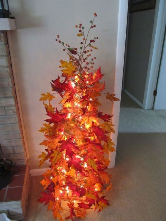 Fall Craft Ideas Part - 30: DIY Fall Tree...these Are The BEST Fall Craft Ideas!