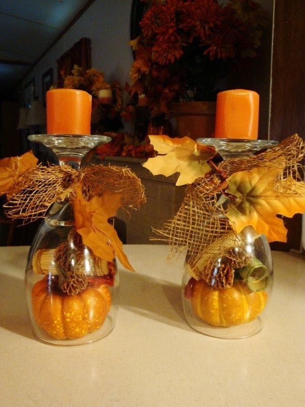 Over 50 of the best diy fall craft ideas kitchen fun for Homemade fall decorations for home
