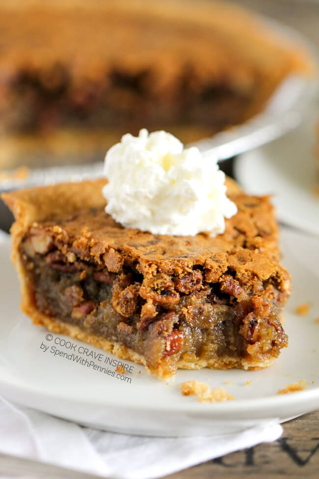 Easy Pecan Pie...these are the BEST Fall Dessert Recipes!
