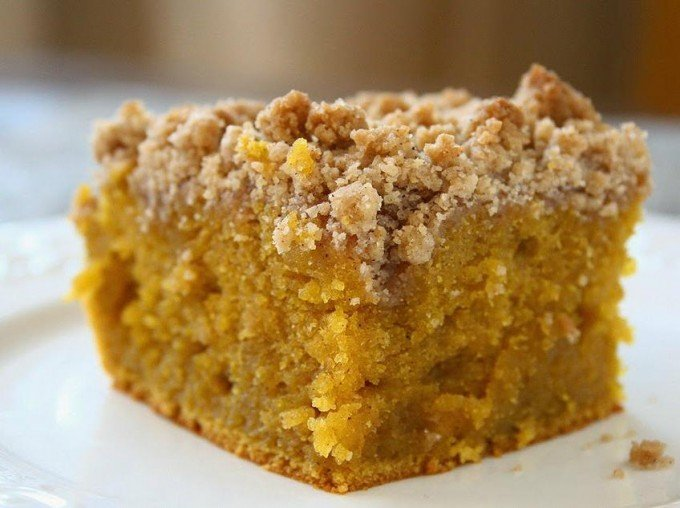 Pumpkin Crumb Coffee Cake...these are the BEST Fall Dessert Recipes!