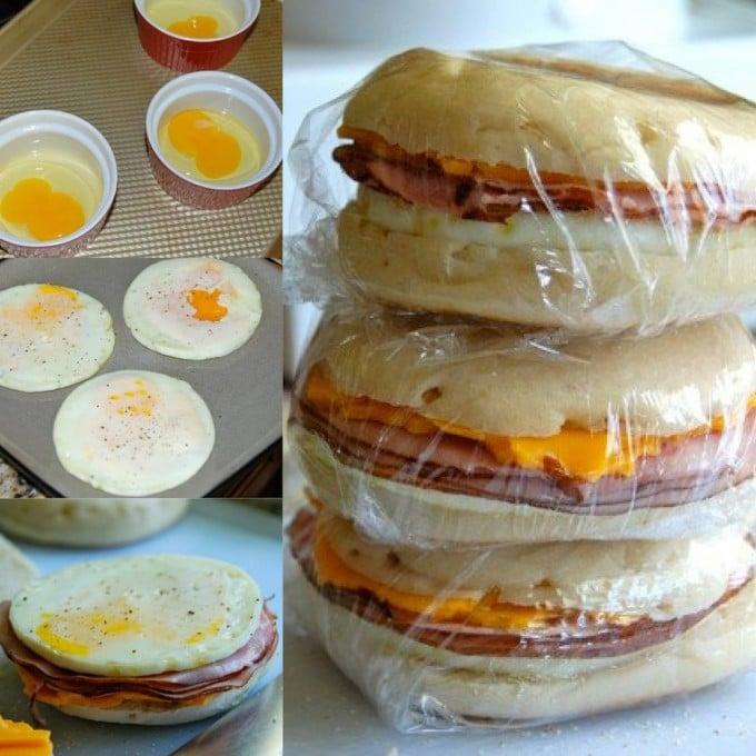 Freezer Breakfast Sandwiches...100's of the BEST Freezer Meals!
