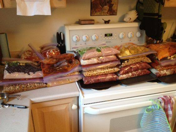 Freezer Cooking - 12 Recipes, 24 Bags, 48 Meals...100's of the BEST Freezer Meal Ideas!