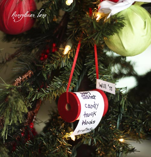 diy christmas list ornamentthese are the best homemade ornament ideas for christmas - Homemade Christmas Ornament Ideas