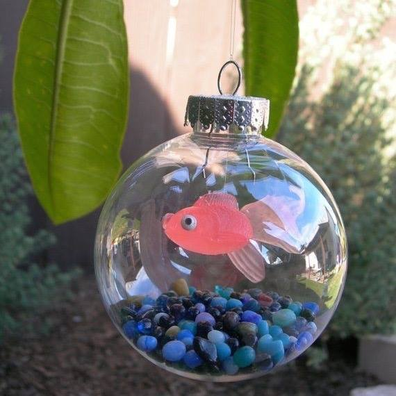 Fishbowl Ornamentthese Are The BEST Homemade Christmas Ornaments