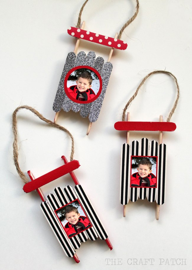 40 homemade christmas ornaments kitchen fun with my 3 sons for Christmas tree ornament craft ideas