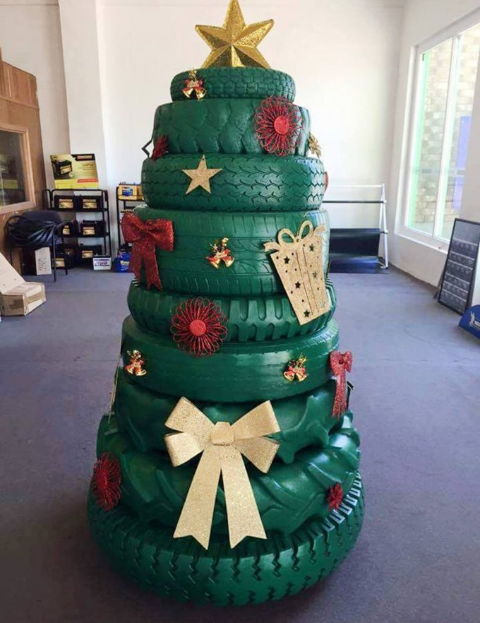 30+ of the most Creative Christmas Trees - Kitchen Fun ...