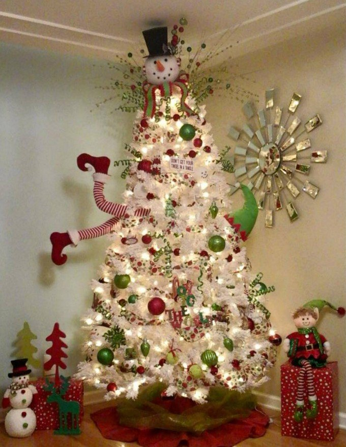 30+ of the most Creative Christmas Trees - Kitchen Fun With My 3 Sons