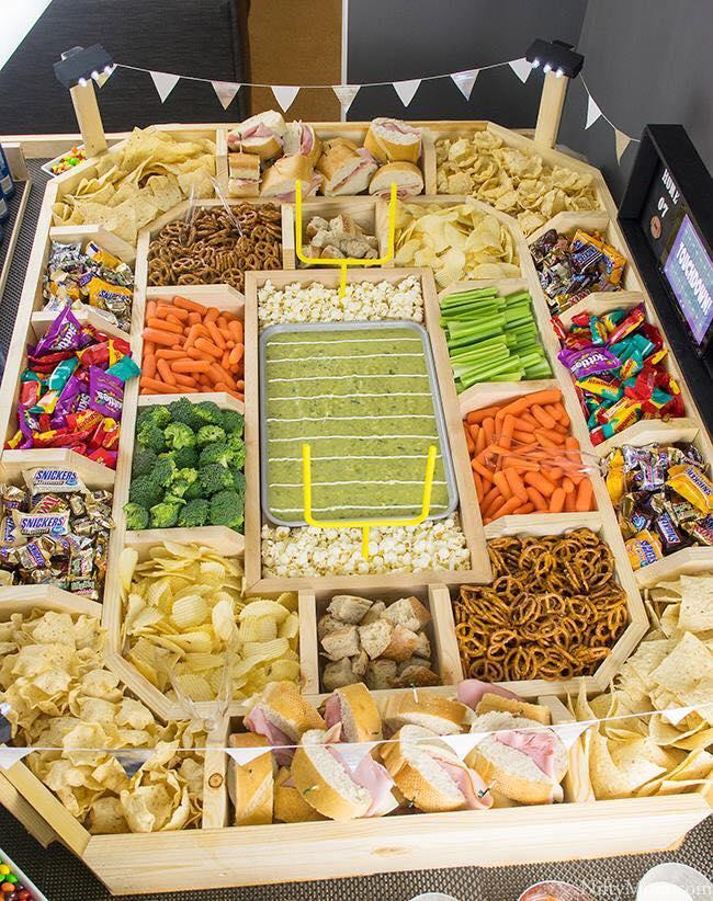 Football Party Tray