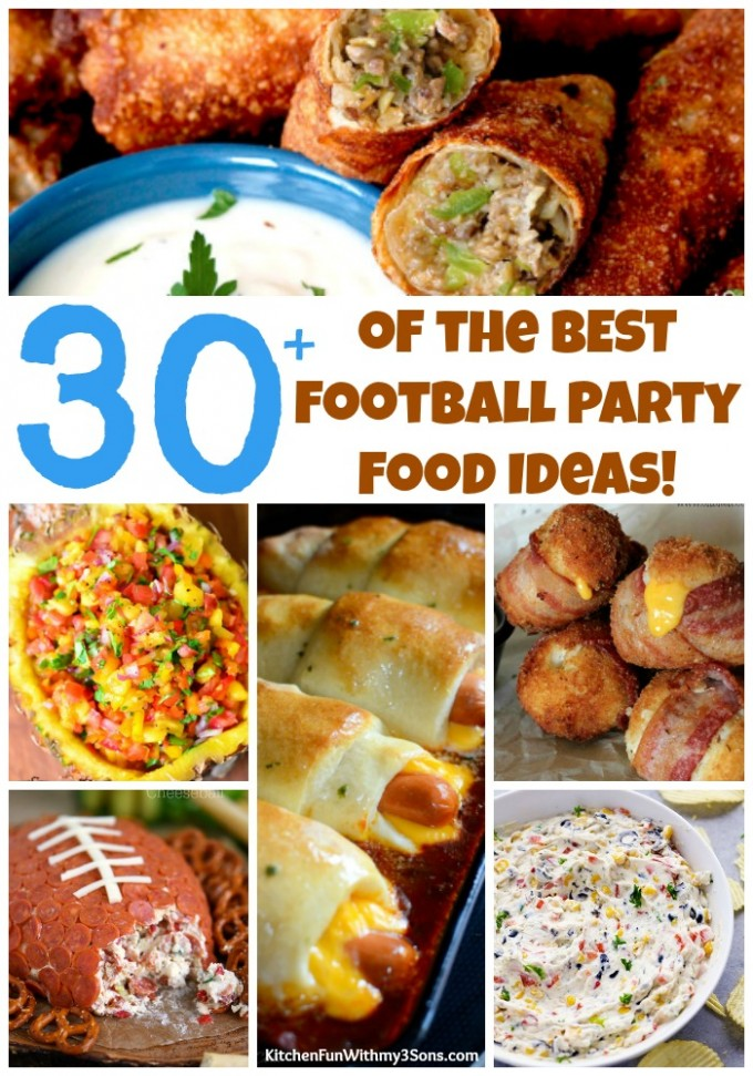 Over 30 of the BEST Football Party Food Ideas & Recipes!