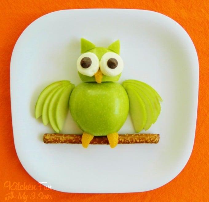 Apple Owl Fruit Snack