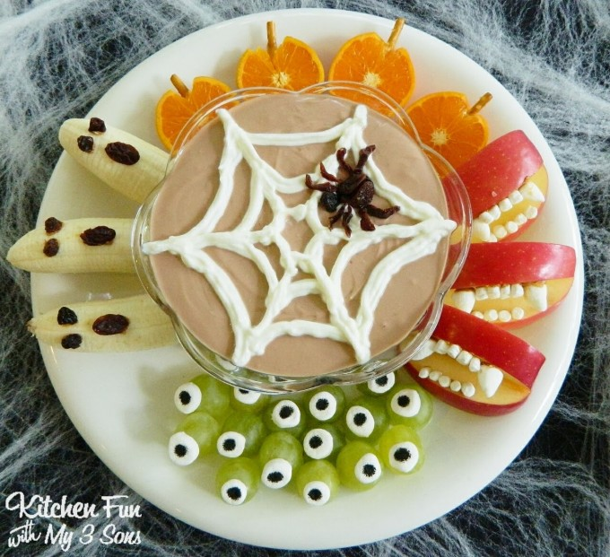 Halloween Fruit Snacks for Kids!