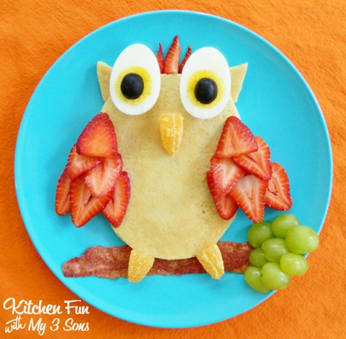 Owl Pancakes...a fun breakfast for Kids!
